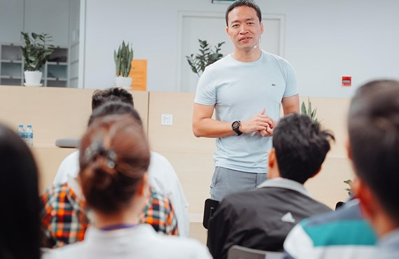 Lê Hồng Minh tại Đại học Fulbright